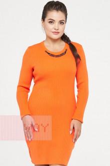 Платье женское 2238 Фемина (Морковный)