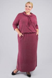 """Платье """"Артесса"""" PP27306RED28 (Бордовый)"""