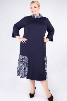"""Платье """"Артесса"""" PP71006DBL04 (Темно-синий)"""