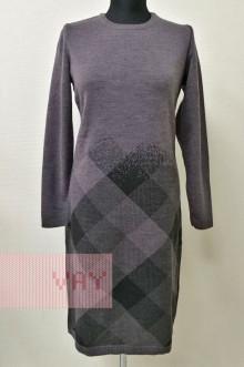 Платье женское 182-2388 Фемина (Графит/черный)
