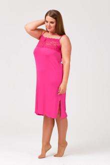 Неглиже-сорочка Грация Стиля (Розовый)