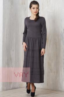 Платье женское 2198 Фемина (Графит)