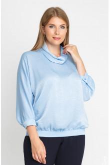 """Блуза """"Лина"""" 4160 (Голубой)"""