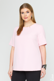 """Блуза """"Блуза"""" 1127 Лина (Розовый)"""