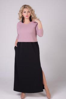 """Платье """"Бренда"""" Sparada (Чёрный / розовый)"""