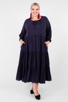 """Платье """"Артесса"""" PP55604DBL05 (Темно-синий)"""