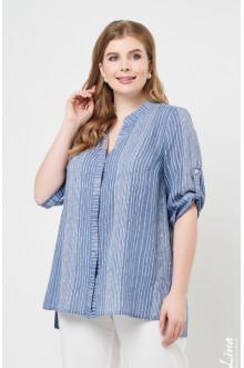 """Блуза """"Лина"""" 4255 (Полоска)"""
