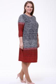 Платье 1404-632 Грация Стиля (Красный)