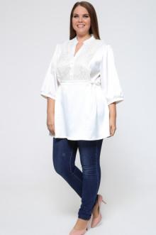 Рубашка 1414-001 Грация Стиля (Белый)