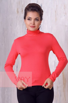 Блуза ВК-20 Фемина (Темный коралл)