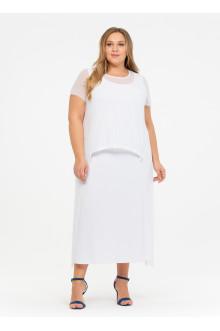 """Платье """"Её-стиль"""" 110200402 ЕЁ-стиль (Белый)"""