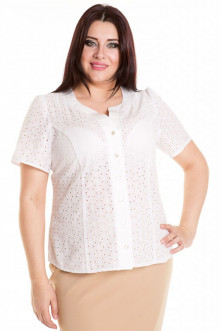 Блузка 248 Luxury Plus (Белый)