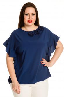 Блузка 705 Luxury Plus (Синий)