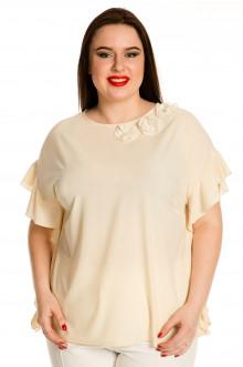 Блузка 705 Luxury Plus (Молочный)