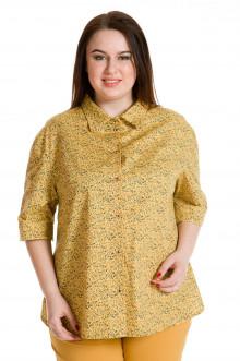 Рубашка 688 Luxury Plus (Горчичный)