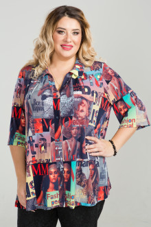 Рубашка 818 Luxury Plus (Красный)