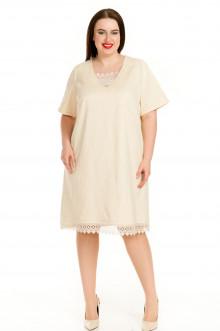 Платье 720 Luxury Plus (Молочный)