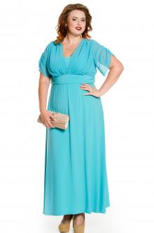 Платье 476 Luxury Plus (Голубой)
