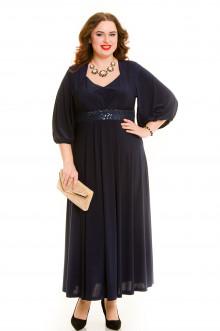 Платье 669 Luxury Plus (Темно-синий)