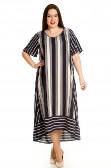 Платье 713 Luxury Plus (Темно-синий)