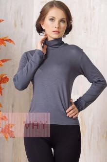 Блуза ВК-19 Фемина (Темно-серый)