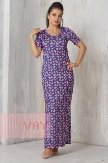 Платье женское 3274 Фемина (Джинс сакура)