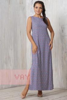 Платье женское 3206 Фемина (Марокко синий)