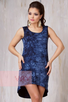 Платье женское 3288 Фемина (Варенка темно-синий)