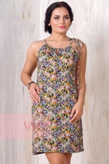 Платье женское 3184 Фемина (Полянка)