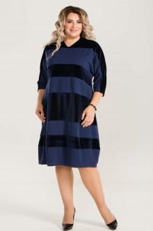 Платье 673 Luxury Plus (Синий)
