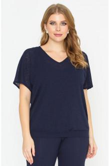 "Блуза ""Лина"" 4148 (Синий темный)"