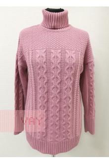 Свитер женский 182-4832 Фемина (Розовая дымка)