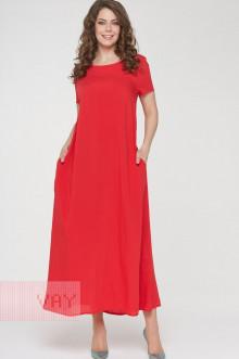 Платье женское 191-3486 Фемина (Доблестный мак)