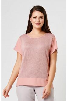 "Блуза ""Лина"" 4194 (Розовый)"