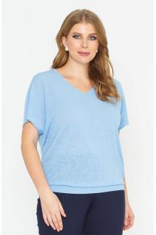 """Блуза """"Лина"""" 4148 (Голубой)"""
