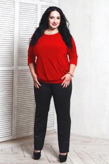 Блуза 061406 ЛаТэ (Красный)