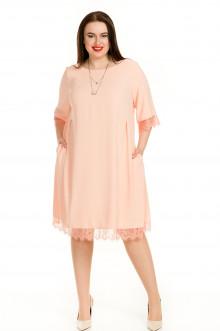 Платье 714 Luxury Plus (Пудровый)