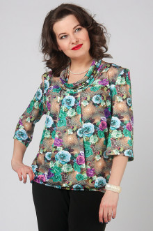 """Блуза """"СКС"""" 3635/2 (Цветной)"""