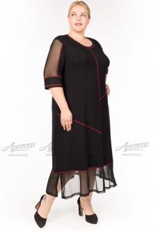 """Платье """"Артесса"""" PP07203BLK25 (Черный)"""