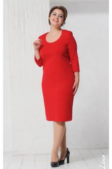 """Платье """"Шанель 2"""" Лина (Красный)"""