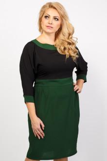 "Платье ""Арлетт"" Sparada (Зелёный/Чёрный)"