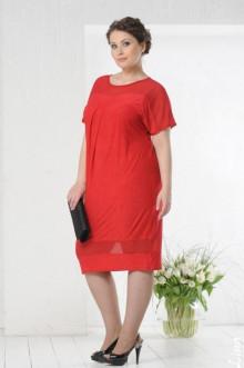 """Платье """"Монреаль"""" Лина (Красный)"""