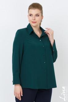"""Блуза """"Арона"""" Лина (Зелёный)"""