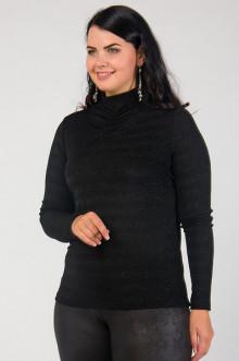 """Блуза """"СКС"""" 03/17 (Черный блеск)"""