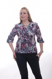 "Блуза ""Олси"" 1510002.2 ОЛСИ (Розы)"