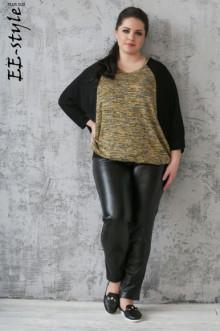 Пуловер 1115 ЕЁ-стиль (Желтый)