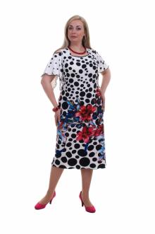 "Платье ""Олси"" 1405007 ОЛСИ (Белый)"