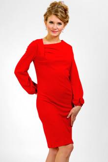 """Платье """"СКС"""" 1502 (Красный)"""