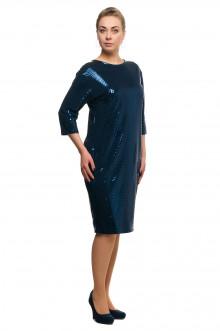 "Платье ""Олси"" 1705027/2 ОЛСИ (Темно-синий)"