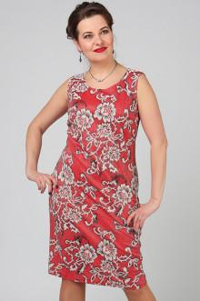 """Платье """"СКС"""" 3005/4 (Красный/серый)"""